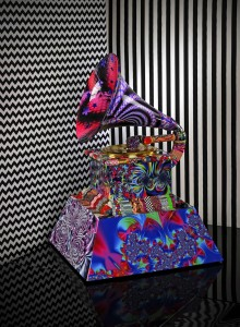 ARTIST LAURENCE GARTEL CREATES OFFICIAL ARTWORK FOR THE 57TH ANNUAL GRAMMY AWARDS