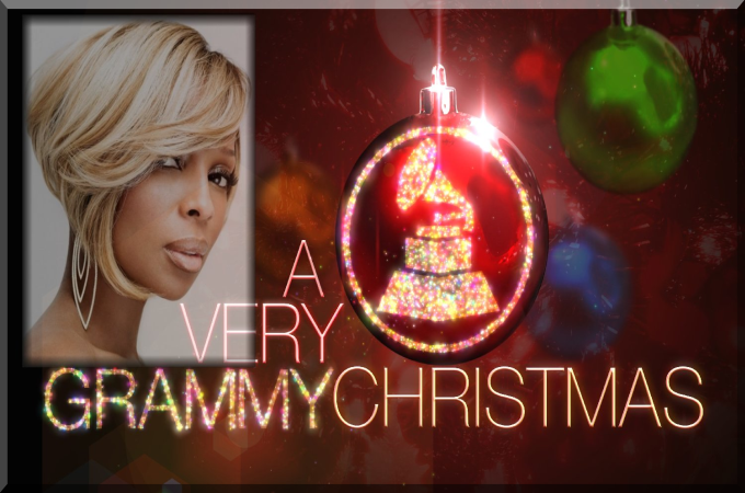 MARY J BLIGE SET TO PERFORM ON GRAMMY CHRISTMAS