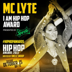 MC LYTE TO RECEIVE THE 'I AM HIP HOP' AWARD 300x300 BET HIP HOP AWARDS 2013 ATLANTA