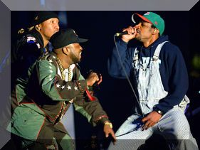 Outkast Performance at Coachella 2014