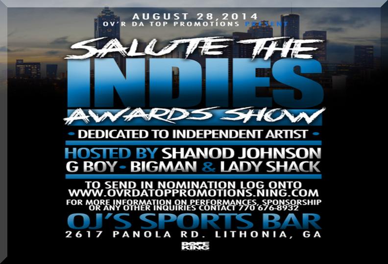 Salute The Indies Awards 2014 Atlanta
