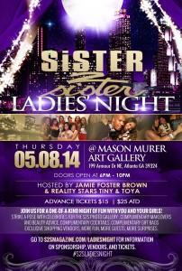 Sister 2 Sister Magazine Ladies Night Photos